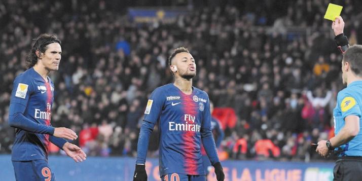 Le PSG chute en Coupe de la Ligue française