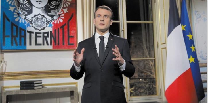 Emmanuel Macron  lance le grand débat