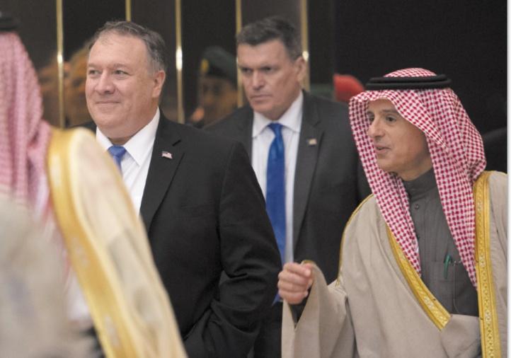 Pompeo en Arabie Saoudite pour avoir
