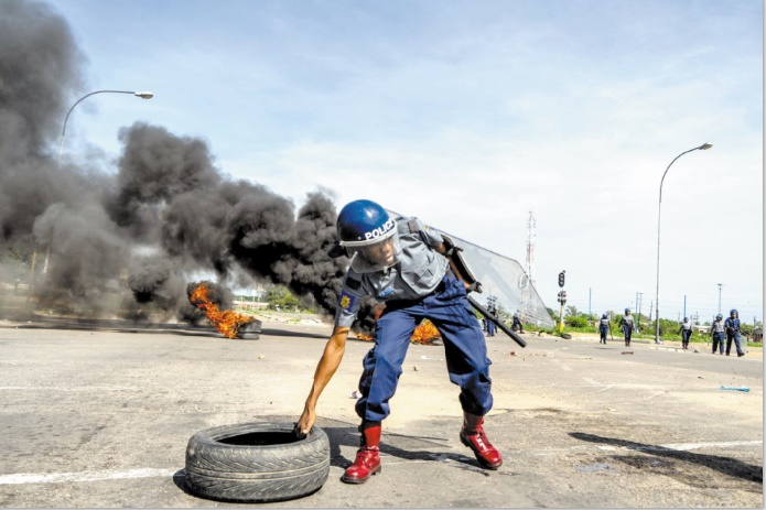 Manifestations meurtrières au Zimbabwe
