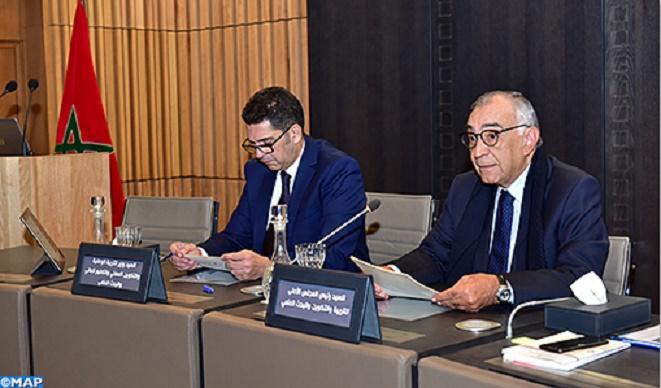 Omar Azziman : Le bilan d'étape du processus de réforme éducative permettra d'examiner la conformité des mesures prises avec la Vision stratégique 2015-2030