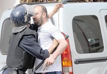 Contrôle policier des axes menant vers le centre de détention de Témara :  La marche avortée du Mouvement 20 février