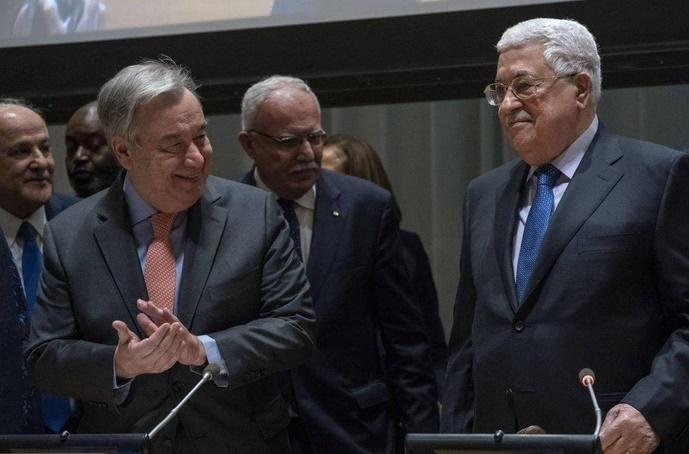 Les Palestiniens, en quête d'un statut d'Etat membre de l'ONU, prennent la tête du G77