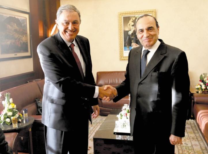 Habib El Malki reçoit Rodolfo Urtubey