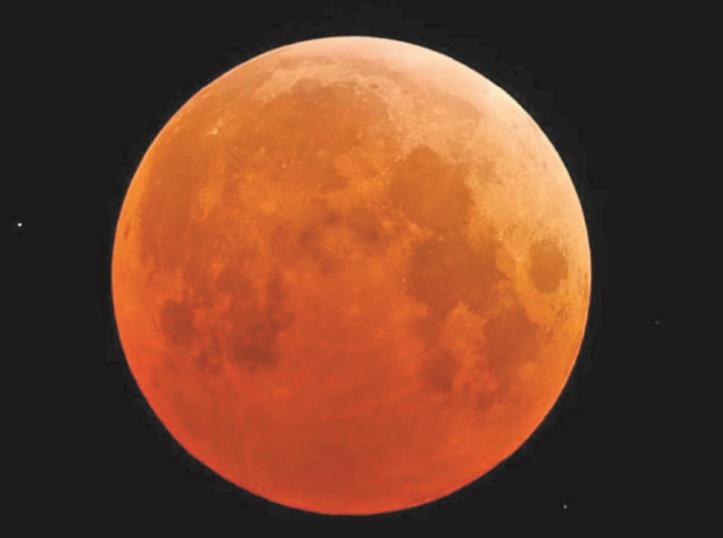 """La """"Super lune de sang'' s'invite chez nous"""