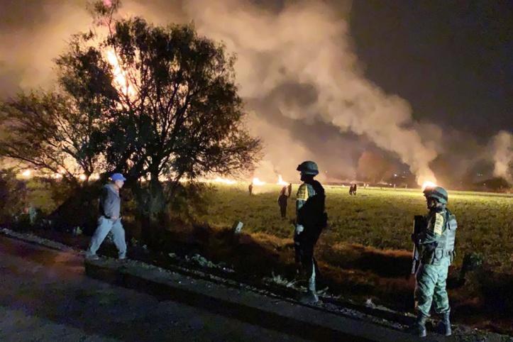 73 morts dans l'explosion  d'un oléoduc au Mexique