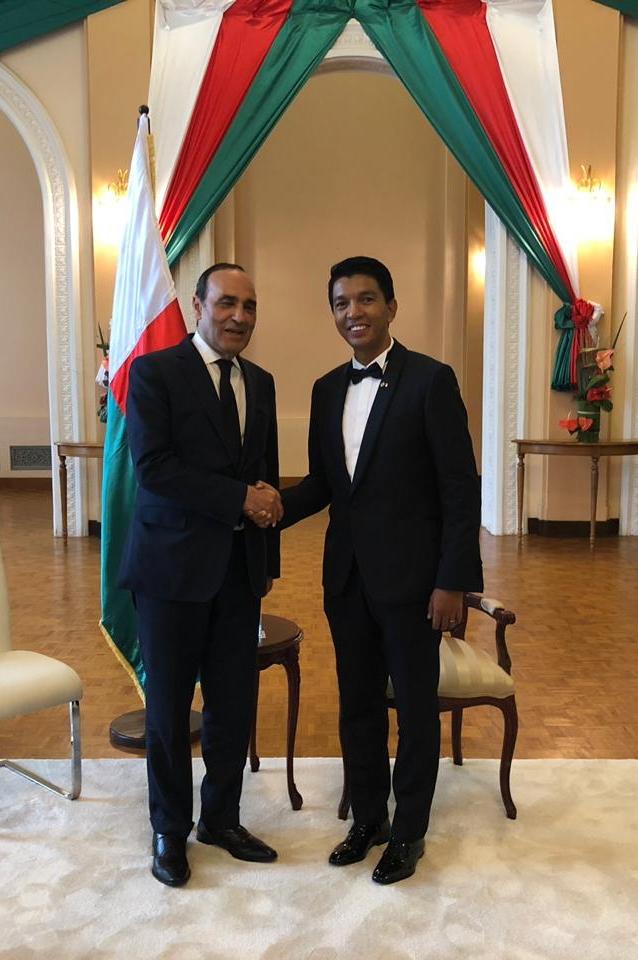 Habib El Malki a représenté S.M le Roi à la cérémonie d'investiture du nouveau président de Madagascar