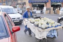Les rues et boulevards sous l'emprise des marchands ambulants