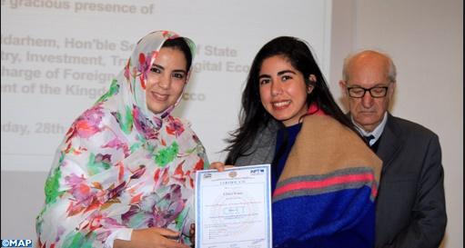Remise des certificats aux lauréats de la deuxième promotion du CEIT de Casablanca