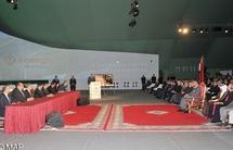 S.M le Roi préside la cérémonie d'ouverture de la deuxième édition des Assises nationales de l'énergie :  De nouvelles centrales électriques mises en production entre 2013 et 2015