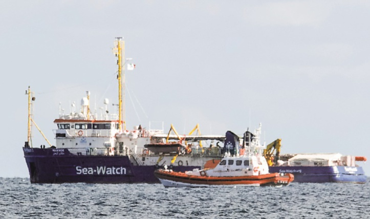 Le Sea-Watch et ses 47 migrants sont arrivés à Catane en Sicile