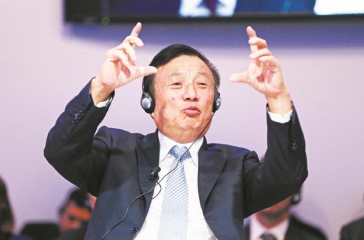 Ren Zhengfei, le fondateur de Huawei, veut sauver sa firme et sa fille