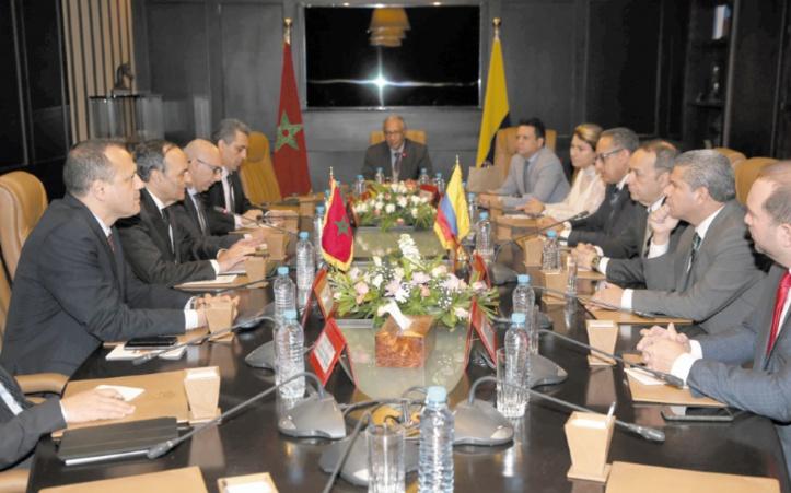 Habib El Malki : Donner un nouveau souffle aux relations parlementaires maroco-colombiennes