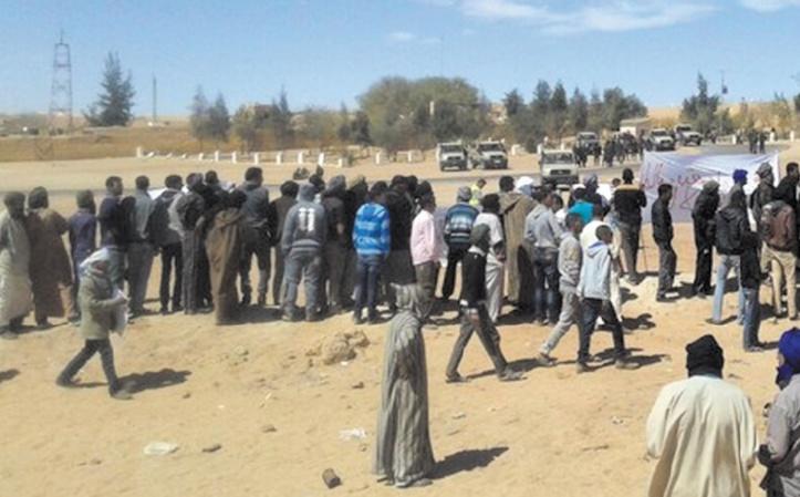 Sit-in et manifestations secouent les camps de Tindouf