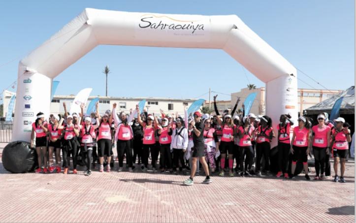 """""""Les Petites Naïades"""" remportent la deuxième étape de Sahraouiya 2019"""