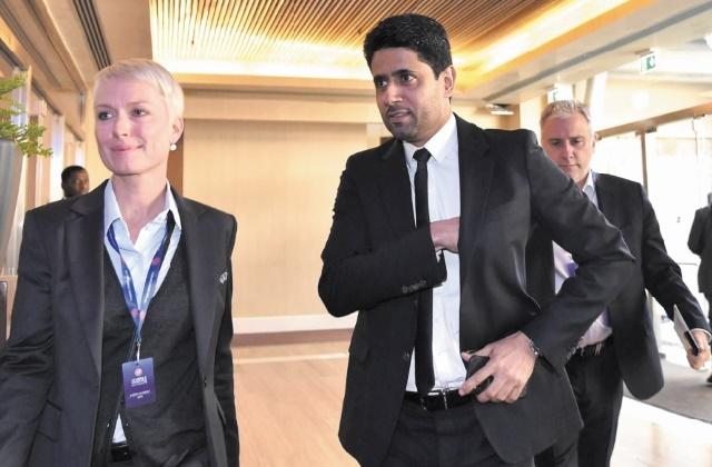 Nasser Al-Khelaïfi au comité exécutif de l'UEFA