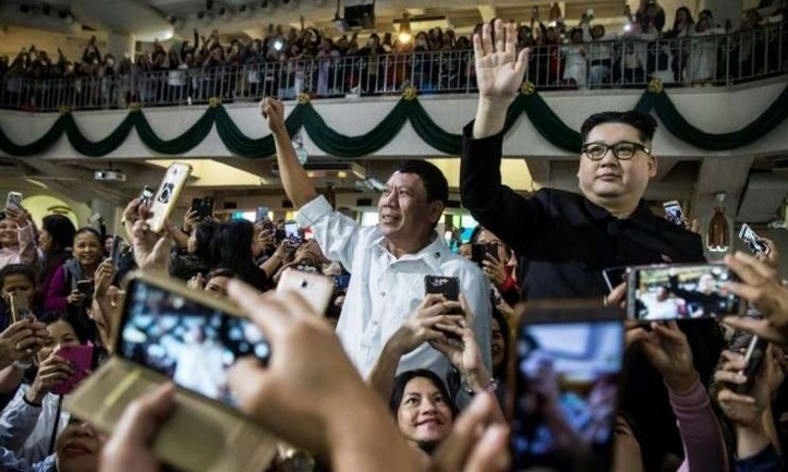 Insolite : Sosie de Duterte
