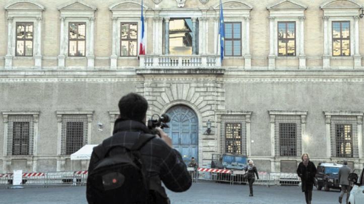 Crise politique sans précédent  entre Paris et Rome