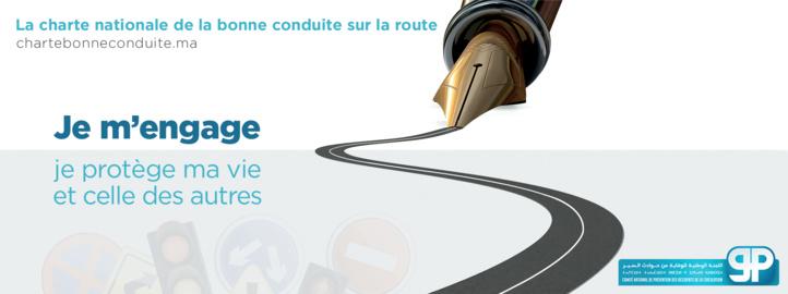 Une charte du bon conducteur pour lutter contre les accidents de la circulation