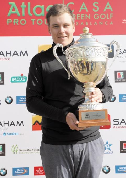 Victoire de Sami Valimaki à l'Open Casa Green de golf