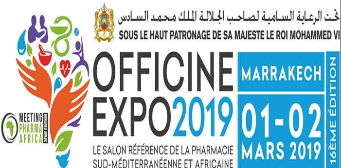 La 16ème édition d'''Officine Expo'' prévue pour début mars à Marrakech