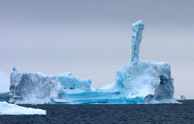 """La fonte des calottes glaciaires pourrait provoquer un """"chaos"""" climatique"""