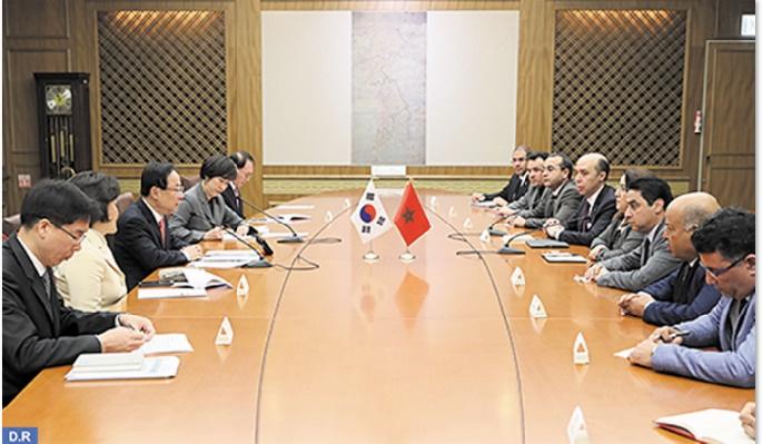 Entretiens parlementaires maroco-sud-coréens à Séoul