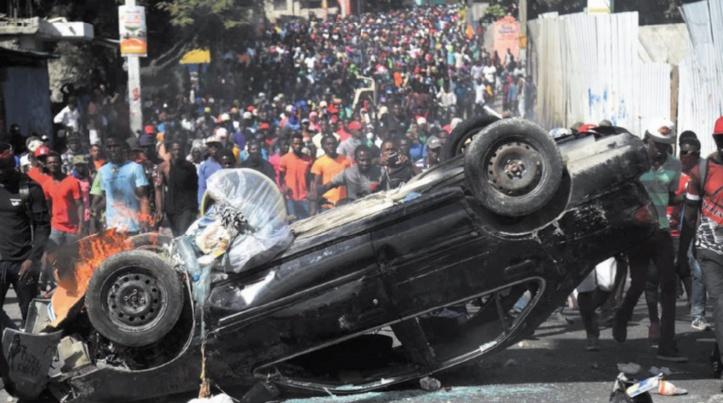 Scènes chaotiques en Haïti : La contestation contre la pauvreté a fait six morts