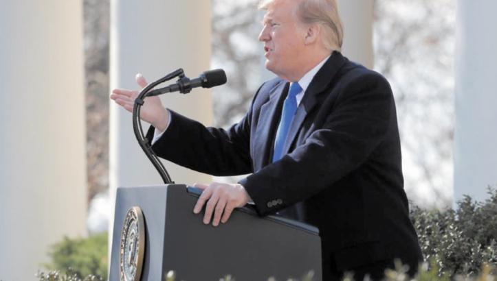 16 Etats poursuivent Trump en justice pour sa déclaration d'urgence nationale