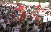 """Plus d'un million de Marocains marchent pour le """"oui"""" : Succès populaire des  meetings de l'USFP"""