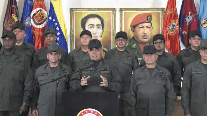 L'armée vénézuélienne déterminée à empêcher l'entrée de l'aide