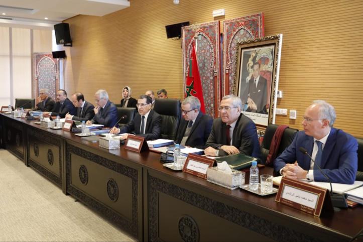 Réunion sous de bons auspices de la  Commission nationale anti-corruption
