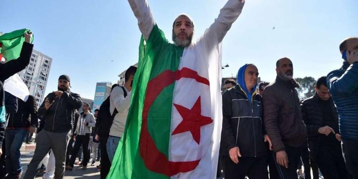 Manifestations en Algérie contre  le 5ème mandat de Bouteflika