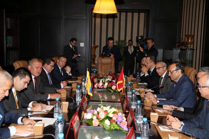 Habib El Malki salue la position du Congrès  colombien en faveur de notre intégrité territoriale
