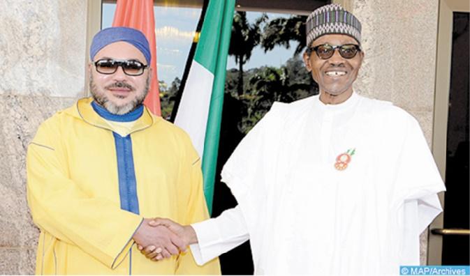 S.M Mohammed VI s'entretient au téléphone avec le Président nigérian