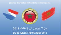 Exposition d'œuvres d'artistes hollandais et marocains