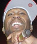 50 Cent, la star du rap américain clôture les festivités
