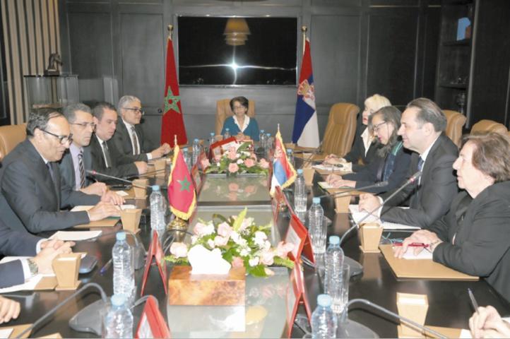 Habib El Malki reçoit Rasim Ljajić