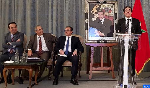 Abdelkrim Benatiq rencontre des  compétences marocaines du Royaume-Uni