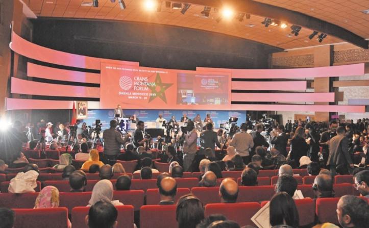 La précédente session du Forum Crans Montana à Dakhla.