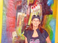 Entretien avec l'artiste peintre Aziza Jamal
