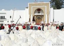 Fête du Trône: Le Souverain préside la cérémonie d'allégeance à Tétouan