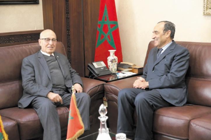 Nabil Shaath loue le soutien de S.M le Roi au peuple palestinien