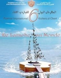 Larache : Et de six pour le Festival de la guitare et du chant