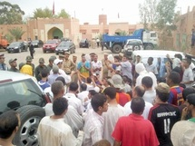 Les habitants d'Alnif protestent contre leur marginalisation : Le gouverneur de Tinghir persona non grata à Alnif