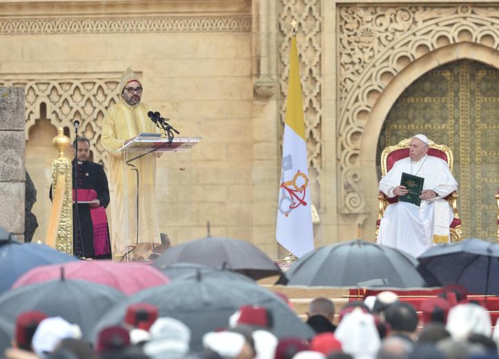 S.M Mohammed VI: Nous, Roi du Maroc, Amir Al Mouminine, nous nous portons garant du libre exercice des cultes