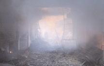 D'importants dégâts matériels enregistrés : Incendie à Souk Mellilia d'Oujda