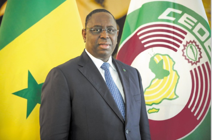 Le Président sénégalais, Macky Sall.