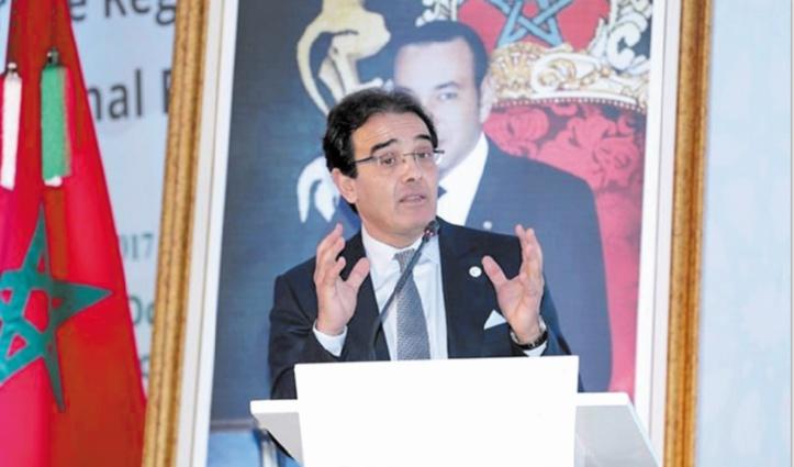 Abdelkrim Benatiq, ministre délégué chargé des Marocains résidant à l'étranger et des Affaires de la migration.
