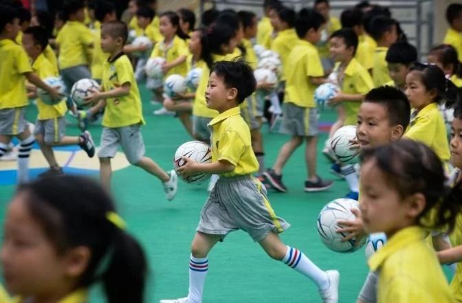 Insolite : Sélection de foot dès la maternelle